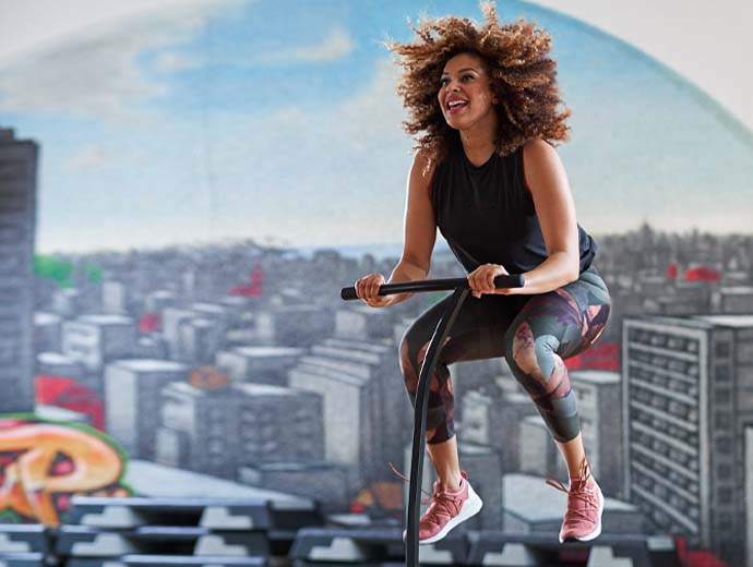 Jumping Fitness – Fitnesskurse bei Meridian